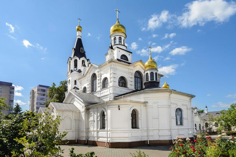 Cerkwie i świątynie miasta