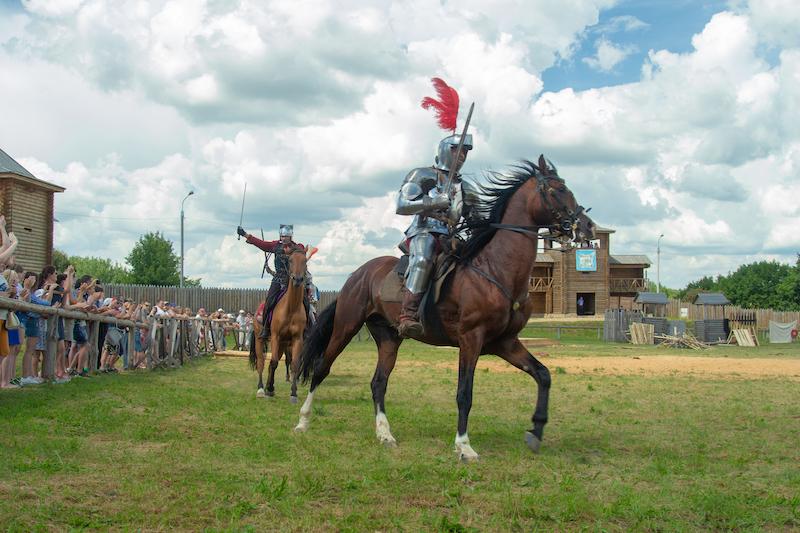 Рыцарский фестиваль в Мстиславле