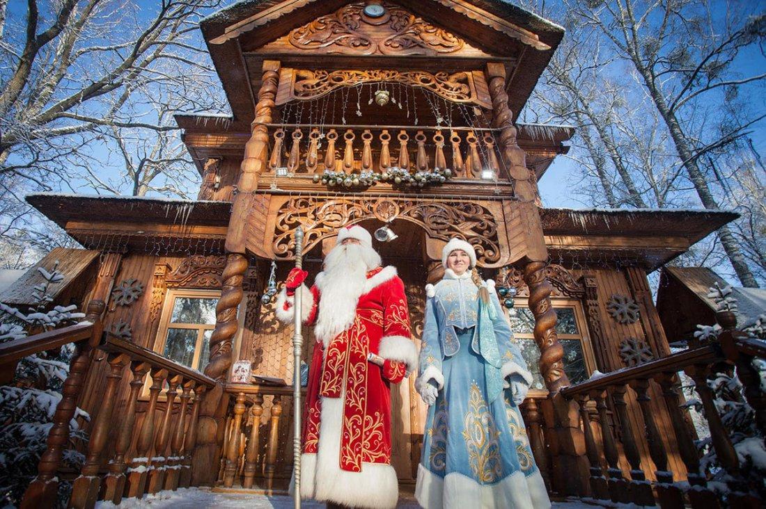 Беловежская пуща — резиденция Деда Мороза