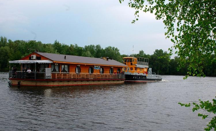 отель «Полесье» на берегу Припяти