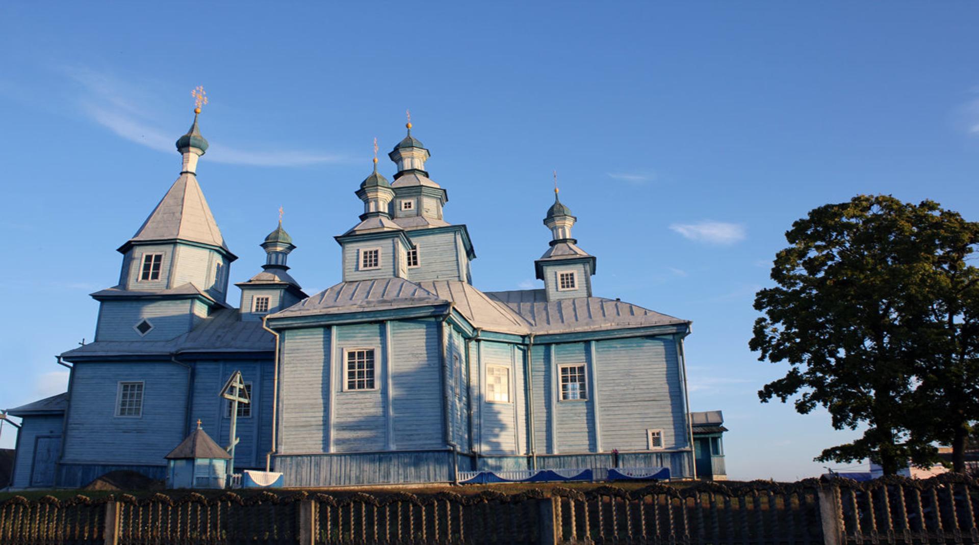 Кожан-городок: церковь Святого Николая
