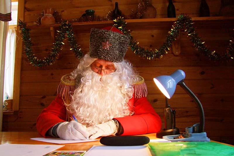 Резиденция Деда Мороза на «Линии Сталина»