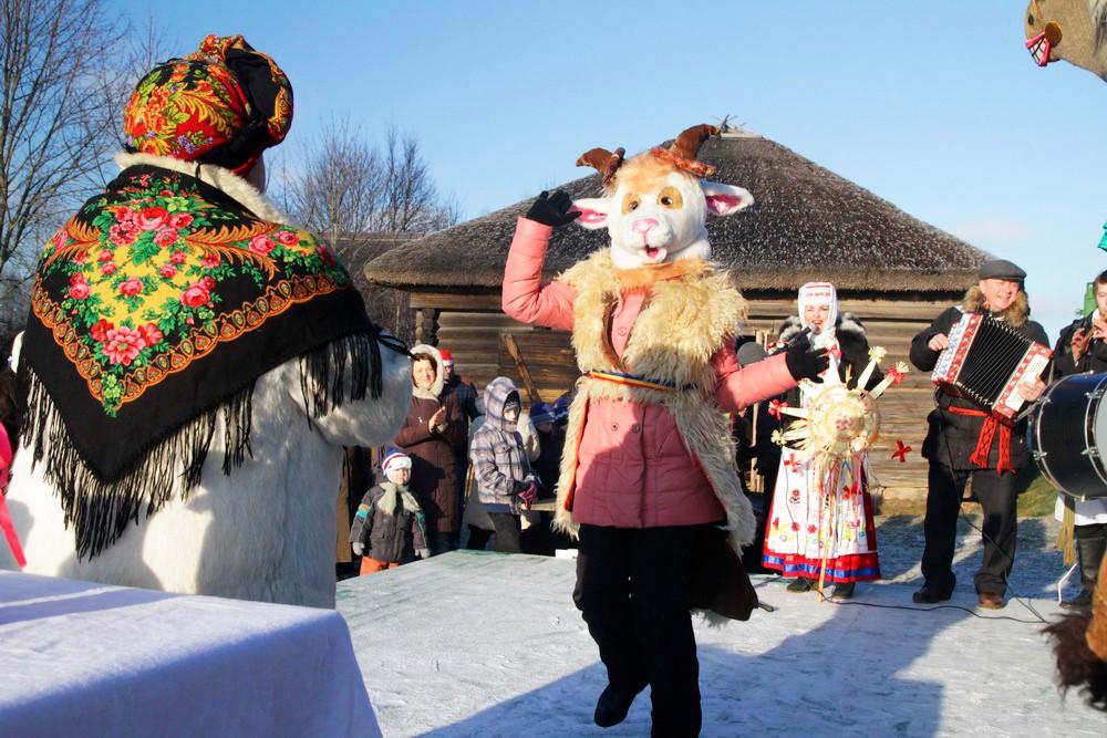 колядовщики в Беларуси