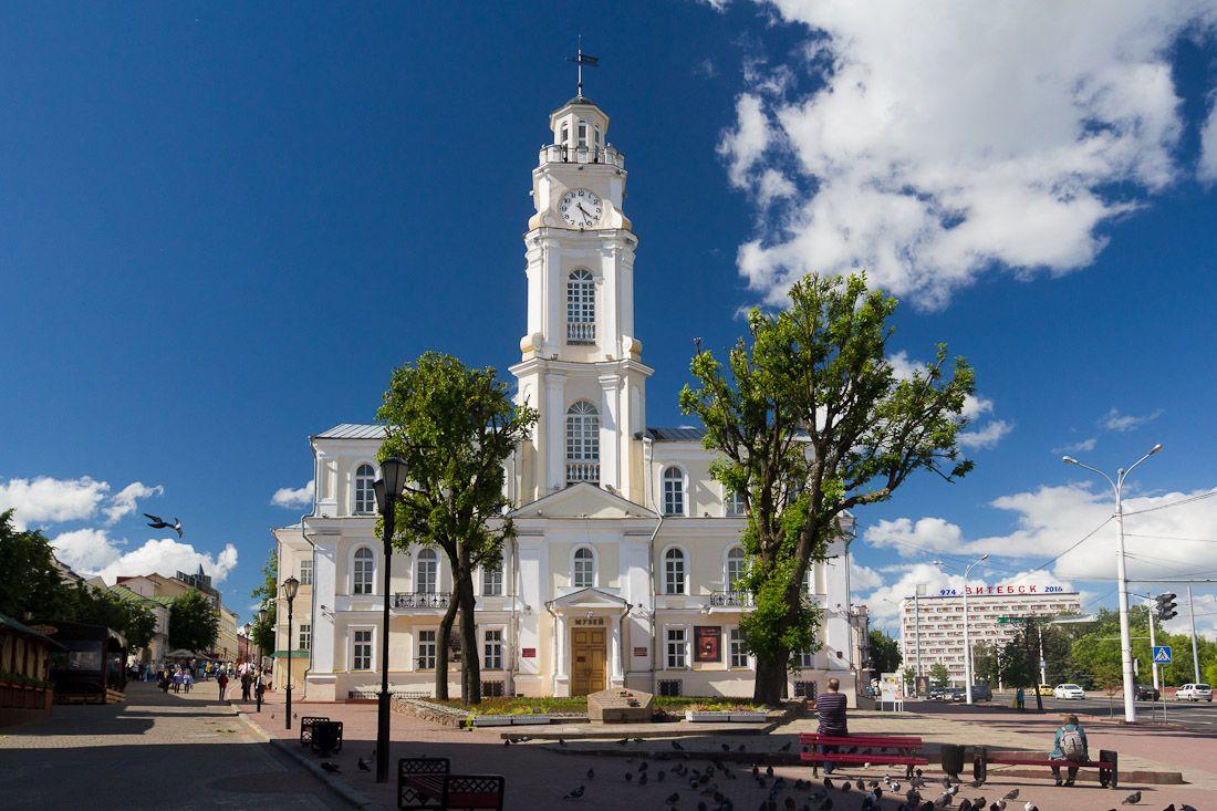 Реставрация витебской ратуши