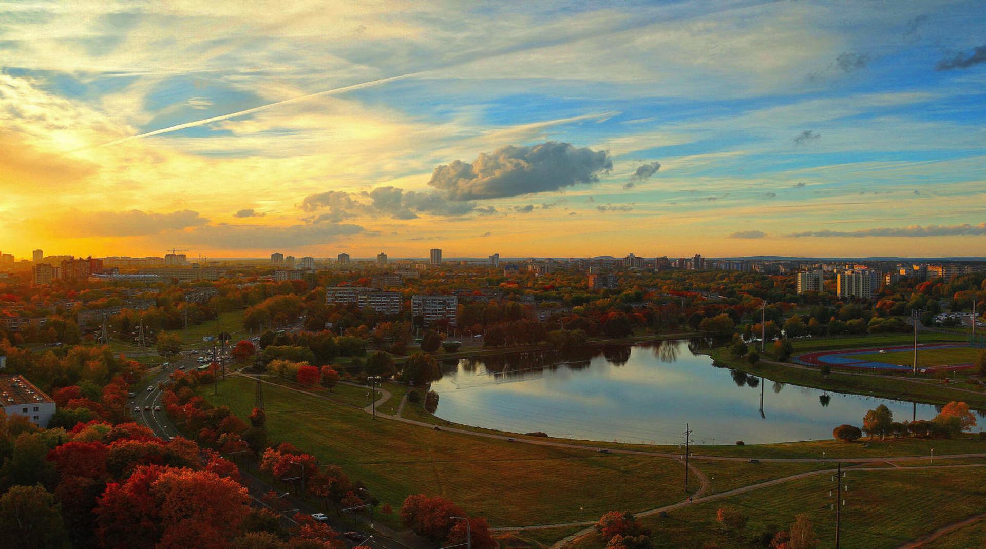 Осенний Минск