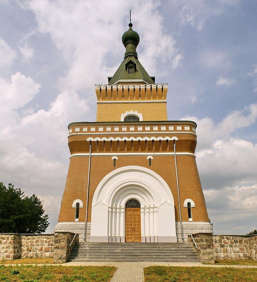Мемориальная часовня в деревне Лесная