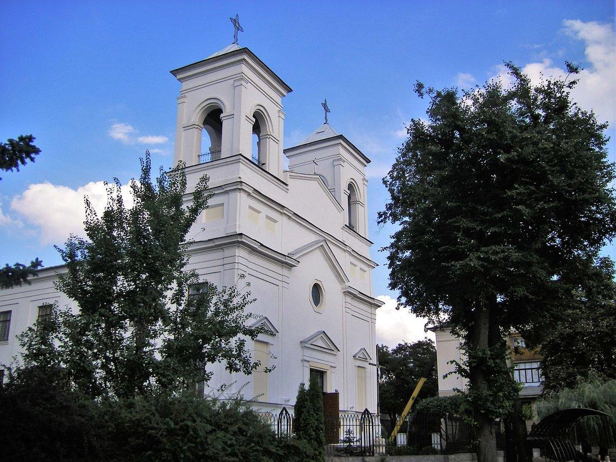 Церковь Воздвижения Святого Креста брест