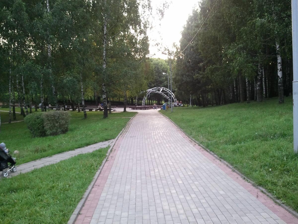 Парк имени 60-летия Великого Октября могилев