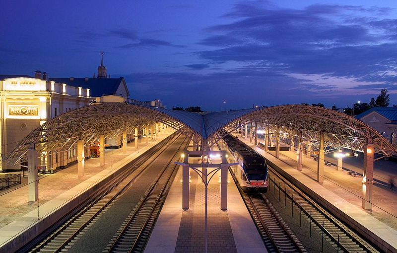 жд вокзал Минск
