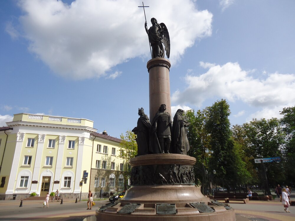 Памятник, посвященный 1000-летию города